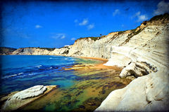 Scala dei Turchi, Sicily, Italy Royalty Free Stock Photos