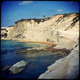 Scala dei Turchi, Sicily, Italy Stock Photography