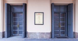 Scala del alla de Teatro Fotos de archivo