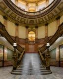 Scala del Campidoglio dello stato di Colorado Fotografia Stock Libera da Diritti