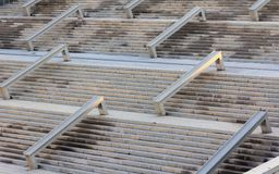 Struttura in cemento armato del cemento della scala nel for Scala in cemento armato a vista