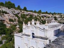 Scala del della de Madonna del dello de Santuario Foto de archivo
