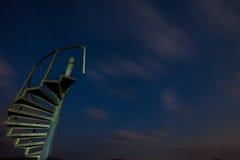 Scala del ferro al cielo Fotografia Stock Libera da Diritti