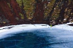 Scala del lago crater fotografia stock libera da diritti