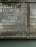 Scala del livello di marea su Pont Neuf Immagini Stock Libere da Diritti