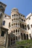Scala del Palazzo Contarini del Bovolo Immagine Stock