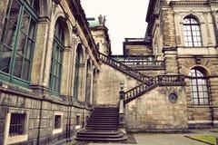 Scala del palazzo di Zwinger Fotografia Stock
