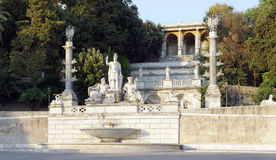 Scala del pincio Roma Fotografia Stock