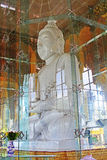 Scala del ` s della pagoda di Kyauk Taw Gyi, Rangoon, Myanmar Immagini Stock