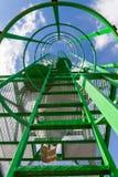 Scala del silo Fotografia Stock