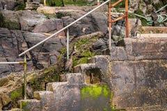 Scala del tessuto felpato Fotografia Stock Libera da Diritti