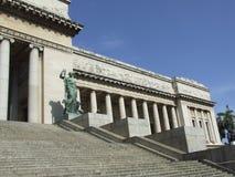Scala dell'entrata del Campidoglio, lato nord Fotografia Stock