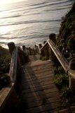 Scala dell'oceano Fotografia Stock