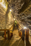Scala della caverna Immagini Stock Libere da Diritti