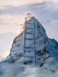 Scala della montagna Fotografia Stock Libera da Diritti
