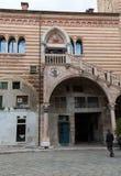 Scala della Ragione in  the Courtyard of the Palazzo della Ragione  in Verona Royalty Free Stock Photos