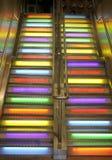 scala delle scale a cielo immagine stock libera da diritti