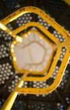 Scala dello scorrevole del campo da giuoco osservata da sotto Fotografie Stock