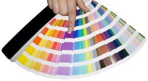 Scala di colore Fotografie Stock Libere da Diritti