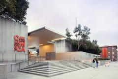 Scala di entrata del museo di arte di Oakland Fotografia Stock Libera da Diritti