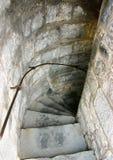 Scala di pietra Fotografia Stock