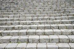 Scala di pietra nel modello Immagine Stock