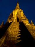 Scala di Wat Phrasrisanpetch Fotografie Stock