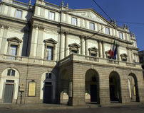 Scala Milaan van La Stock Afbeelding