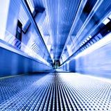 Scala mobile commovente ad alta velocità Fotografie Stock