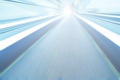 scala mobile commovente ad alta velocità spaziosa Fotografie Stock Libere da Diritti