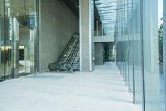 scala mobile della costruzione moderna Fotografia Stock Libera da Diritti