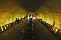 Scala mobile della metropolitana Immagini Stock