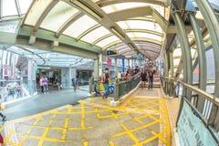 Scala mobile Hong Kong dei Mezzo livelli Immagine Stock Libera da Diritti