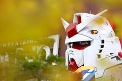 Scala reale 18m del vestito mobile di Gundam alto Fotografie Stock