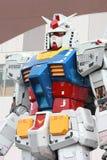 Scala reale 18m del vestito mobile di Gundam alto Fotografia Stock Libera da Diritti