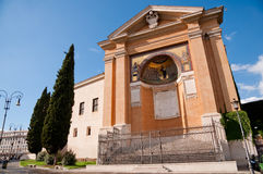Scala Santa horyzontalny widok przy Roma - Włochy obrazy royalty free