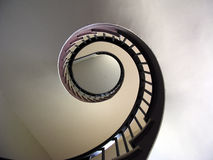 Scala a spirale - 2 Immagini Stock