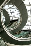 Scala a spirale Immagini Stock