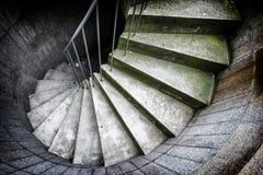 Scala a spirale Immagini Stock Libere da Diritti