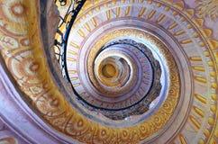 Scala a spirale fotografie stock libere da diritti
