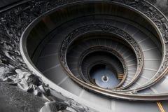 Scala a spirale del museo spettacolare di Vatican Immagine Stock Libera da Diritti