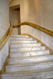 Scala a spirale di marmo Fotografia Stock Libera da Diritti