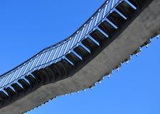 Scala sul cielo Fotografia Stock Libera da Diritti