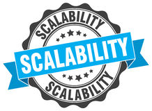 Scalability stamp Stock Photography