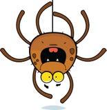 Scalata del ragno del fumetto Immagine Stock