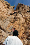 Scalata di montagna a Guia Immagine Stock Libera da Diritti