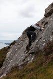 Scalata di roccia. Fotografia Stock Libera da Diritti