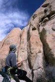 Scalata di roccia Fotografie Stock Libere da Diritti
