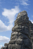 Scalata di roccia Immagini Stock