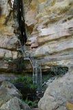 Scalata in su delle scale Fotografia Stock Libera da Diritti